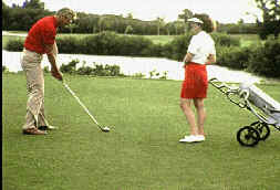 sporting-goods-golfing-couple